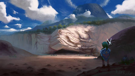 Dodongo's Cavern by Raedrob