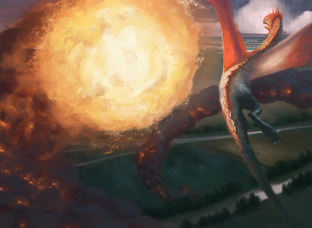 Grand Fireball by Raedrob