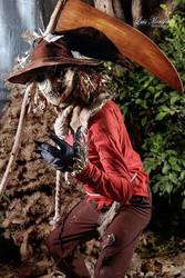 Cosplay:Scarecrow de Batman. by El-Saint
