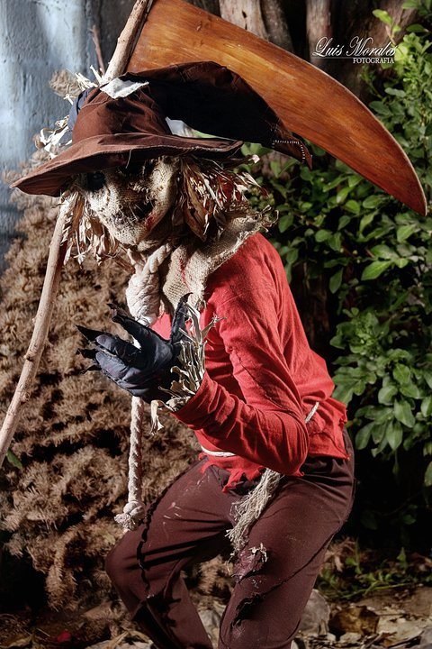 Cosplay:Scarecrow de Batman. by El-Saint