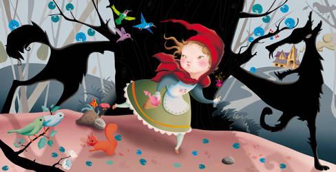 Le Petit Chaperon Rouge by gigi4g