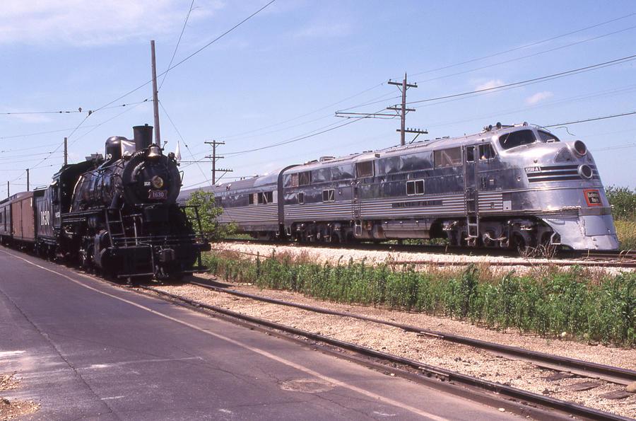 Steam and Diesel by ferlincletus