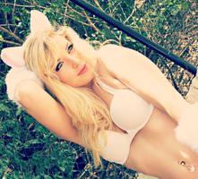 Emma Kitten Frost by CosplayButterfly