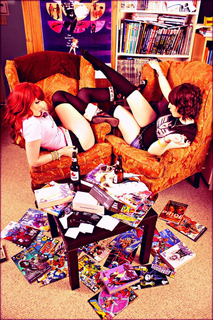 Geek Girls by CosplayButterfly