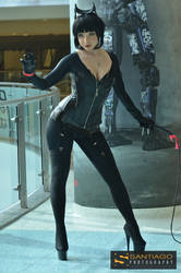 Catwoman Con Cosplay by CosplayButterfly