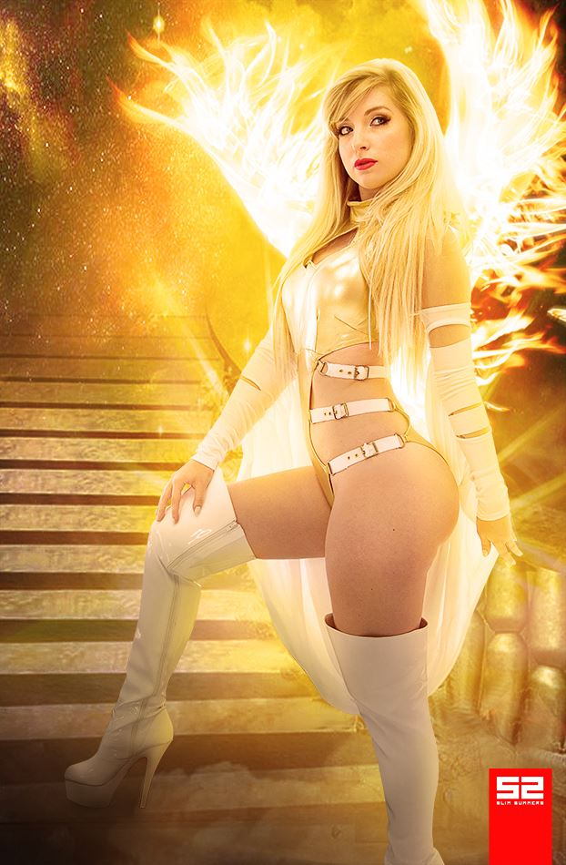 The Phoenix Five Emma Frost by CosplayButterfly