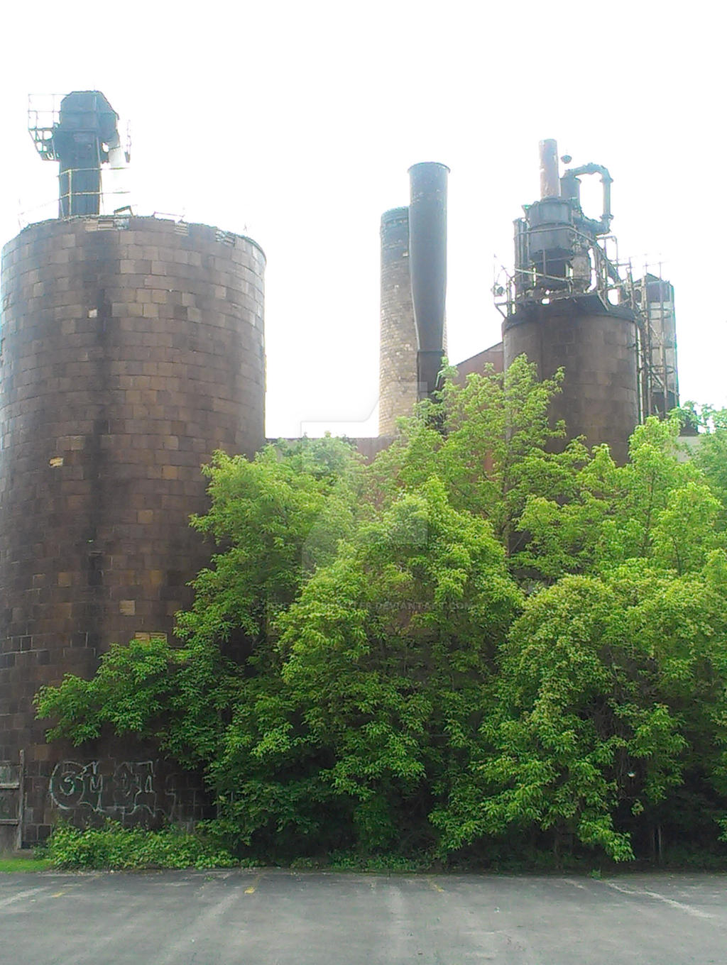Part of the old Gerber factory by Android-shooter