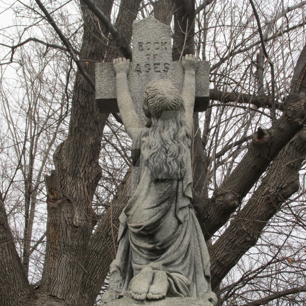 Rock of Ages, in Mount Hope Cemetery by Android-shooter