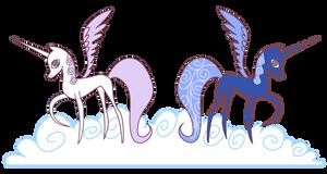 My Little Pony Alicorn Celestia and Luna