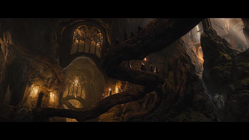 Mirkwood, home of the Silvan Elves by leaner47