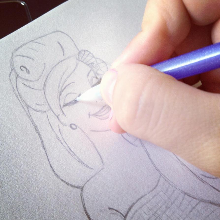 Sketch by AnnTan