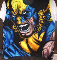 Wolverine by DontBornInInk