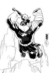 Planet Hulk Clayton and Zurel