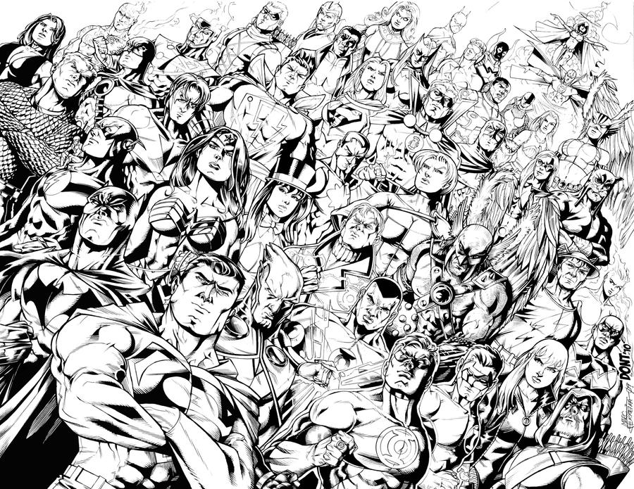 The Women Of Dc Comics Ink In Adam Withers S Dc Comics: DC Comics Universe By DontBornInInk On DeviantArt