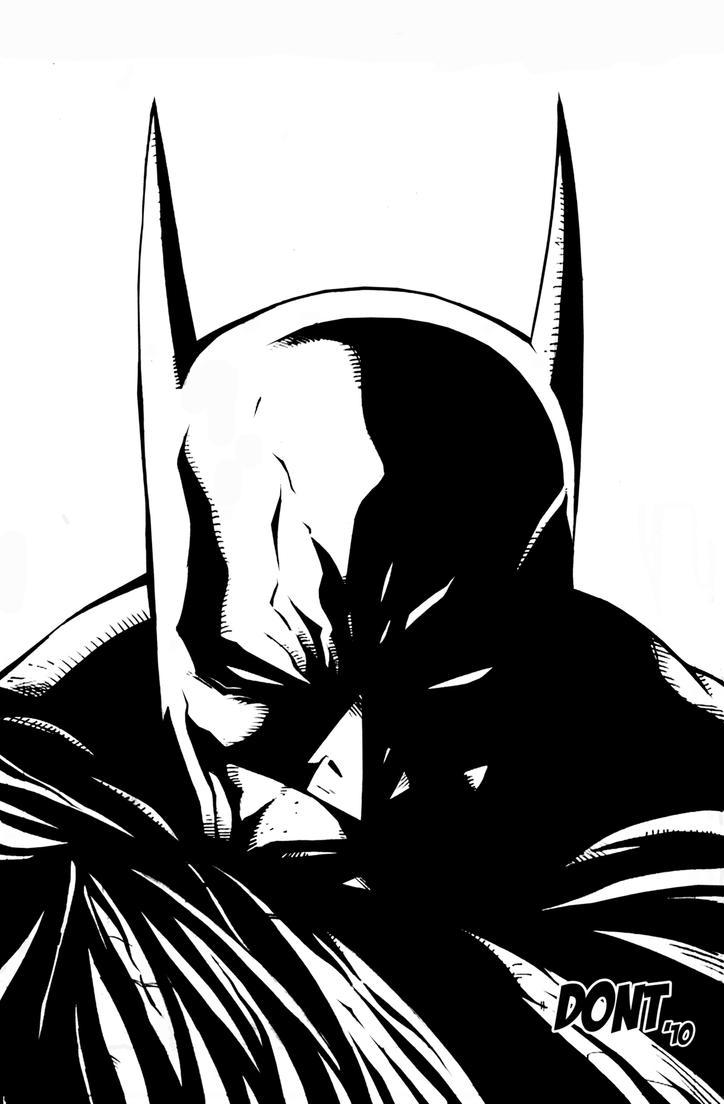 Return Of Bruce Wayne inks by DontBornInInk