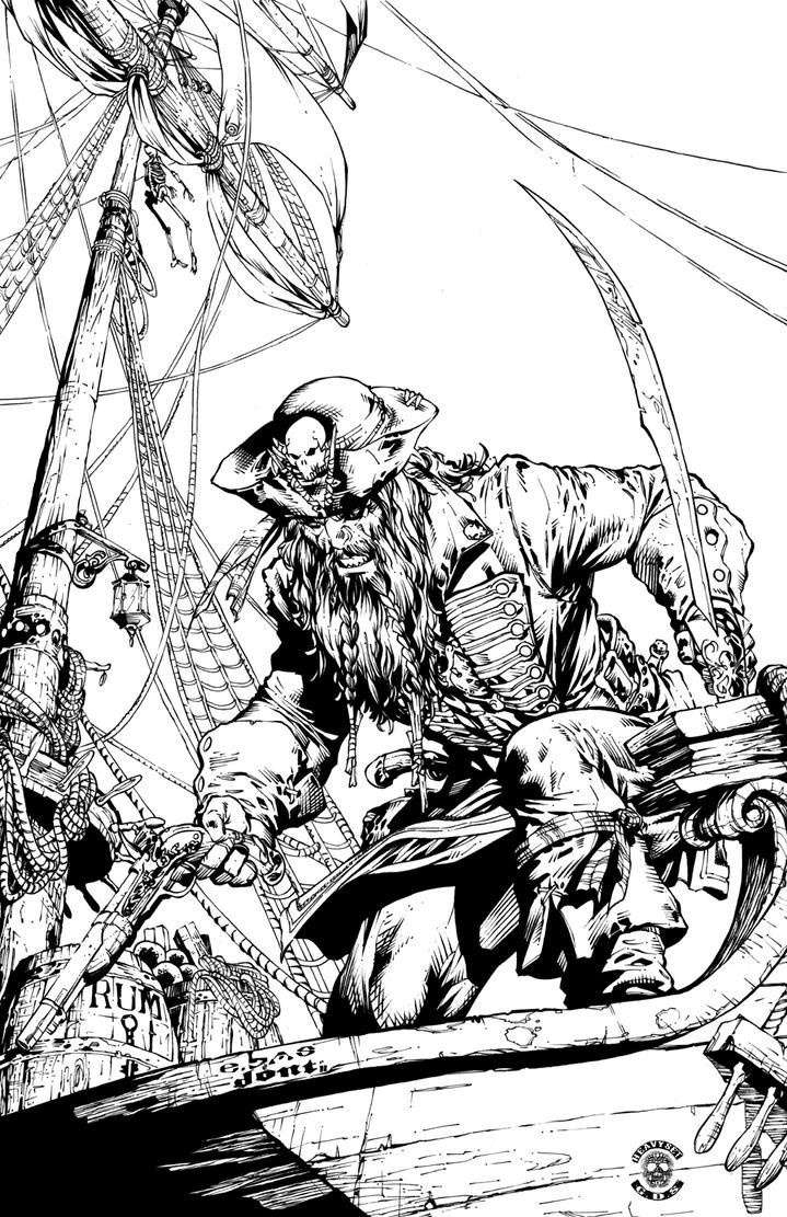 Pirate Ebas Zurel Inks by DontBornInInk