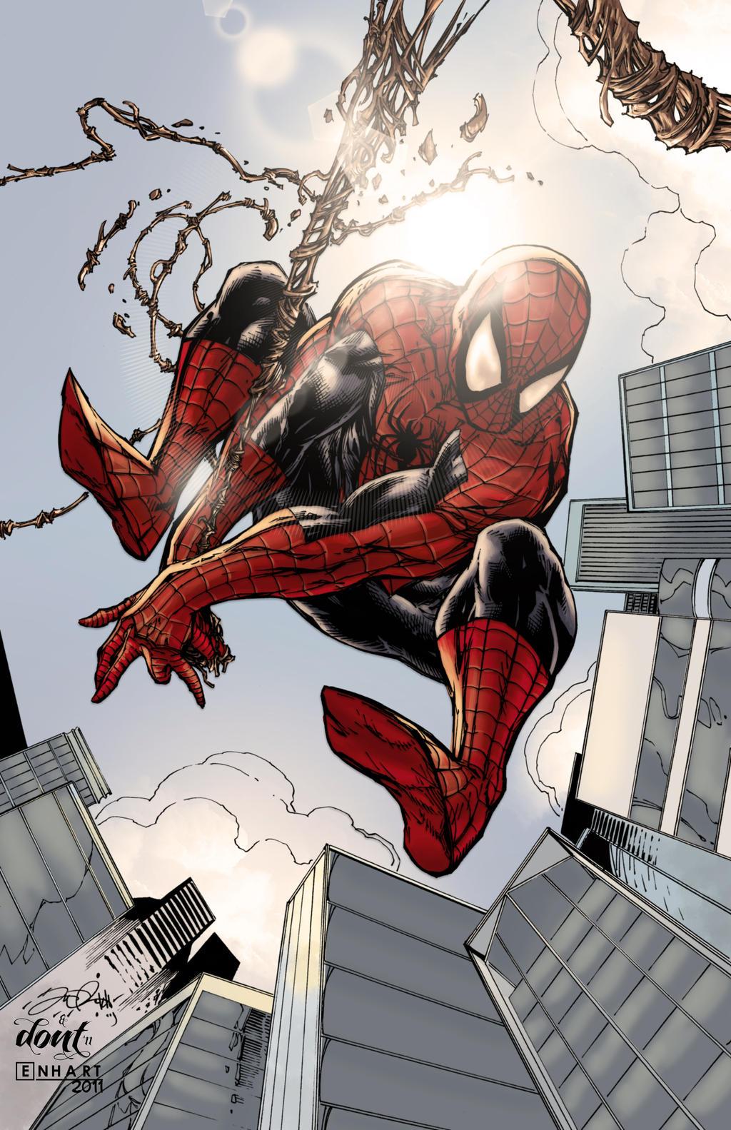 Spiderman Colored