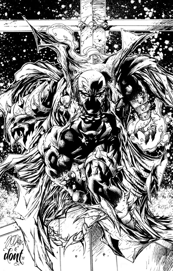 Spawn inks by dontborninink on deviantart for Spawn coloring pages