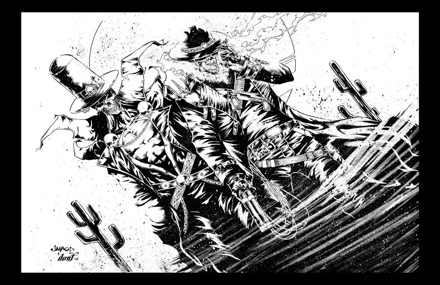 Ghost Rider and Spawn by DontBornInInk on DeviantArt