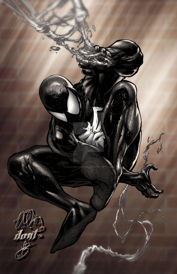 Spiderman Black Suit by DontBornInInk on DeviantArt