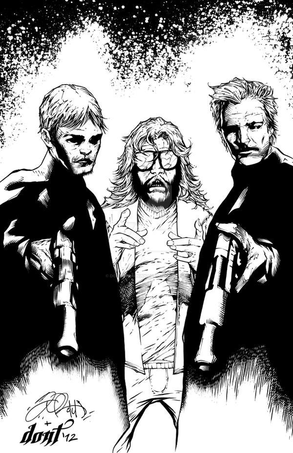 Boondock saints by dontborninink on deviantart - Boondock saints cartoon ...