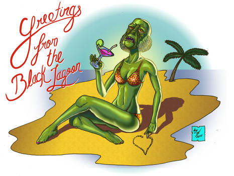 Greetings from the Black Lagoon