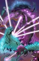 Shin Godzilla vs Godzilla Filius/Earth by SeaGunsLives