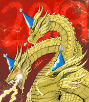 New Year, New Ghidorah by SeaGunsLives
