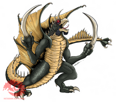 Gigan - GTAP by SeaGunsLives