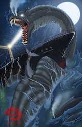 COMMISSION - Nessie by SeaGunsLives