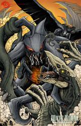Mutos vs Skullcrawlers (Color Job) by SeaGunsLives