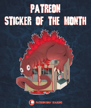 Patreon Sticker of the Month No. 1