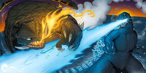 Godzilla vs Gamera