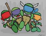 Retard Mutant Ninja Turtles
