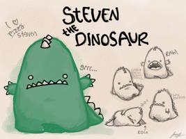 steven the dinosaur by Ungat-trunn
