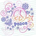 Peace Sign  Hippie Stuff by amberbateman