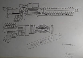 Fallout weapons by Creon25367
