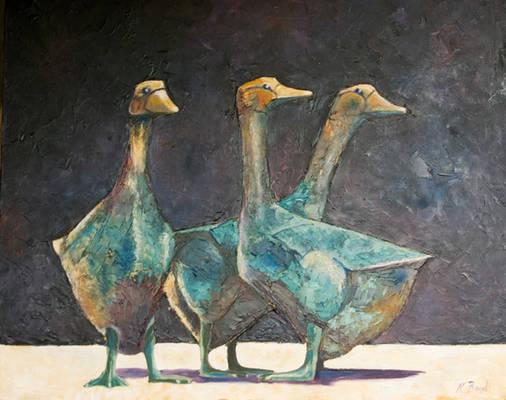 Sarlat Geese