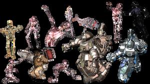Splinter Stock - Random Characters