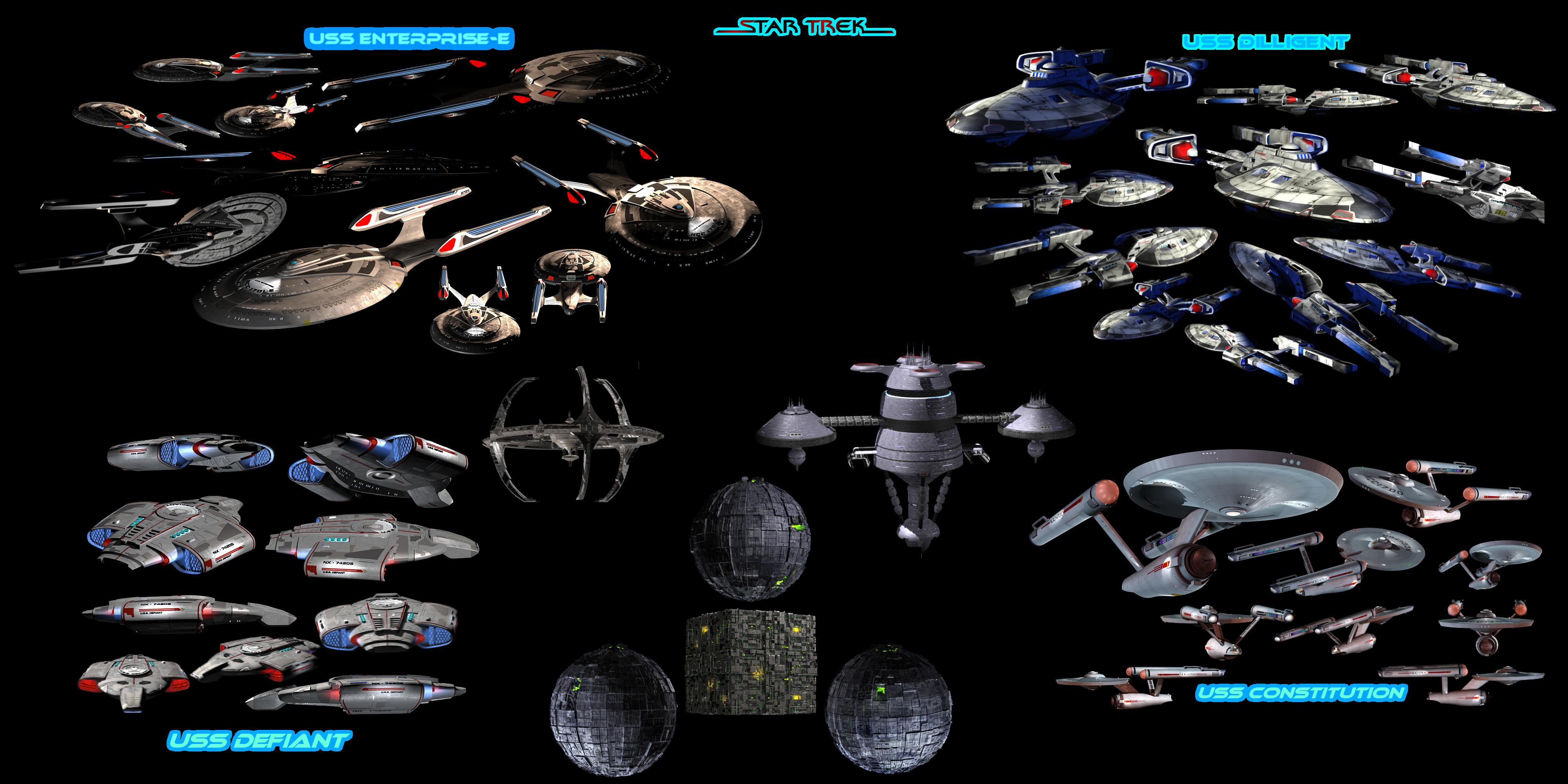 Spli-Stock - Star Trek Splicons by deema78