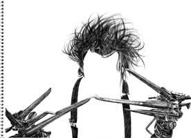 'I'm not finished' - Edward Scissorhands by darrenOhhh