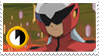 ProtoMan.EXE Stamp by HannahTheHedgehog15