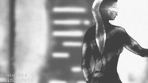 Cyberpunk girl 4 by MetafoorFilm