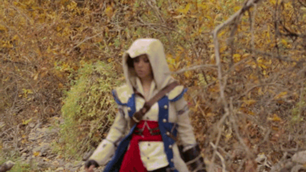 Lindsey Stirling Assassins Creed Wallpaper GIF Lindsey Stirling BTS