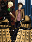 Doctor and The Master by akane3196