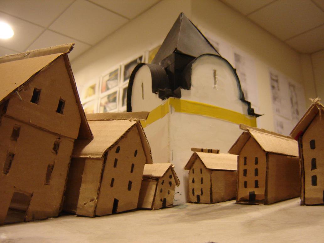 Cardboard Novogorod by Chevic