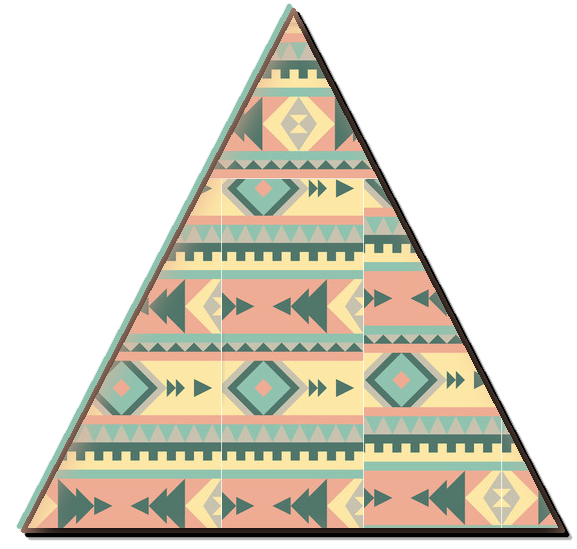 Triangulo Hipster png....