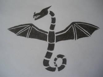 dragon symbol 3 by firedrake24