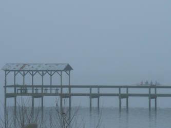 early morning fog by firedrake24