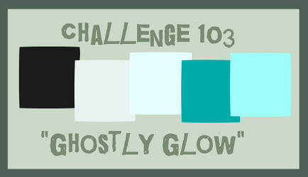 Challenge 103: Ghostly Glow by RedVioletPanda